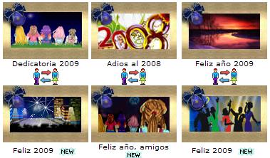 4 postales ano nuevo Postales para año nuevo