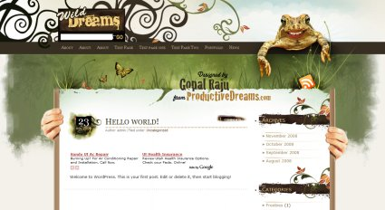 wilddreams 40 plantillas wordpress gratis