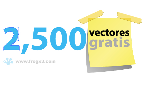 2500 vectores gratis 2,500 vectores gratis