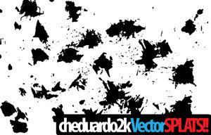 cheduardo  s vectorsplats by cheduardo2k 16 vectores abstractos de manchas
