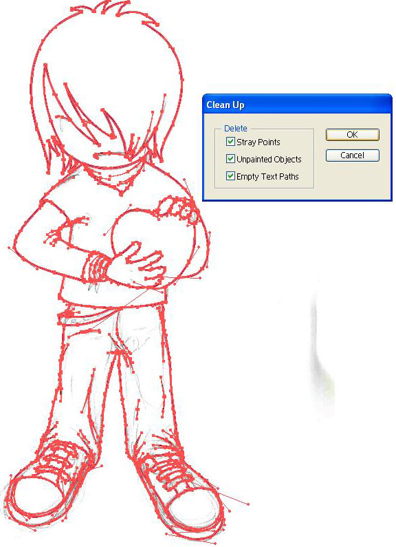 dibujo emo