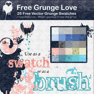 free grunge love by namespace 16 vectores abstractos de manchas
