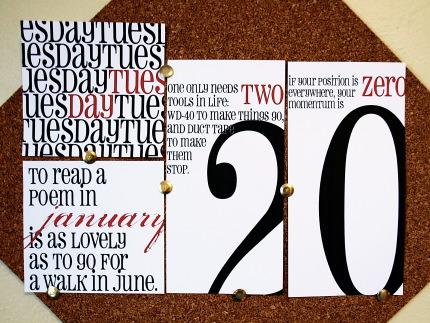 imprimir calendario 2009