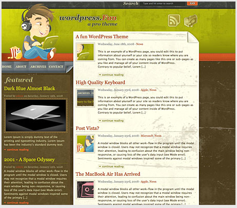 5 45 excelentes wordpress themes gratuitos