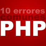errores comunes php