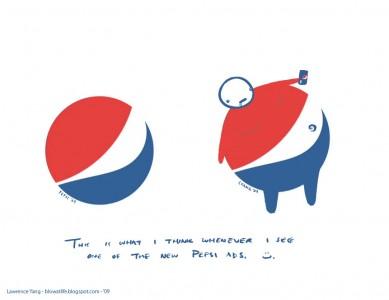 nuevo logo de pepsi de un gordo