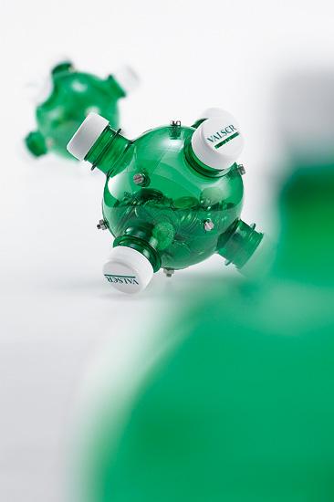 recycline kasse Ejemplos para reciclar botellas de plastico