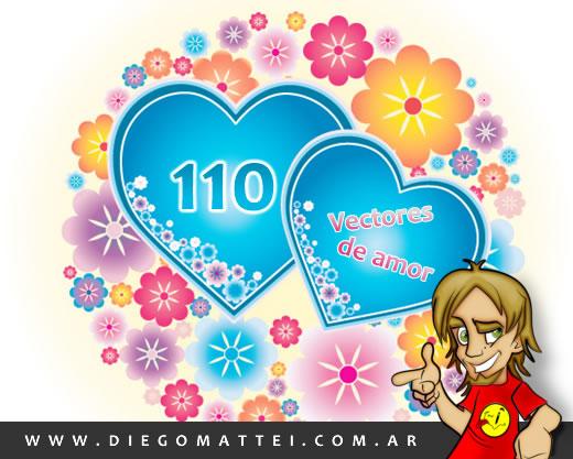 corazones de amor para dibujar. vectores de corazones