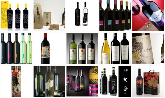 ejemplos de packaging de botellas
