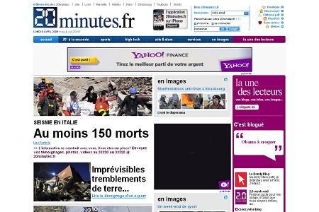 20minutes 30 ejemplos de paginas de periodicos y noticias en linea