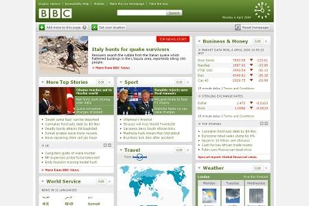 bbc co uk 30 ejemplos de paginas de periodicos y noticias en linea