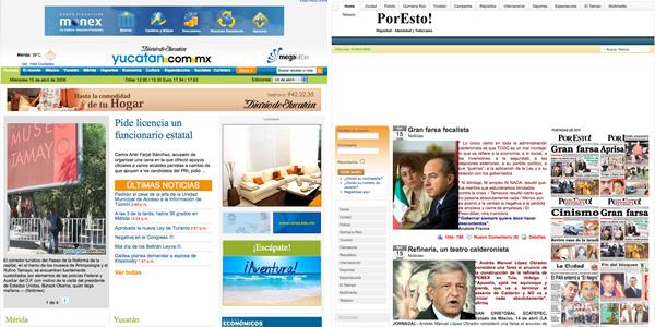 periodicos en merida mexico peque 30 ejemplos de paginas de periodicos y noticias en linea