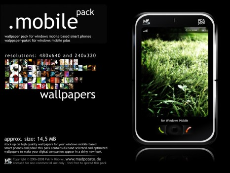 windows mobile wallpaper pack by madpotato 466x350 133 fondos para ...