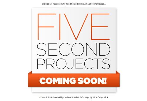 fivesecondprojects