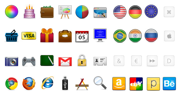 iconos PSD gratis 750 iconos gratis para descargar, incluye archivos PSD