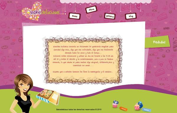 30 incre bles dise os web de paginas de postres frogx three for Diseno de interiores paginas web