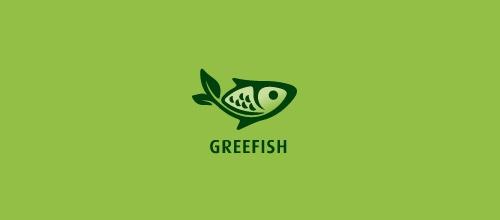 """40 diseños de logos inspirados en """"peces"""" - Frogx Three"""
