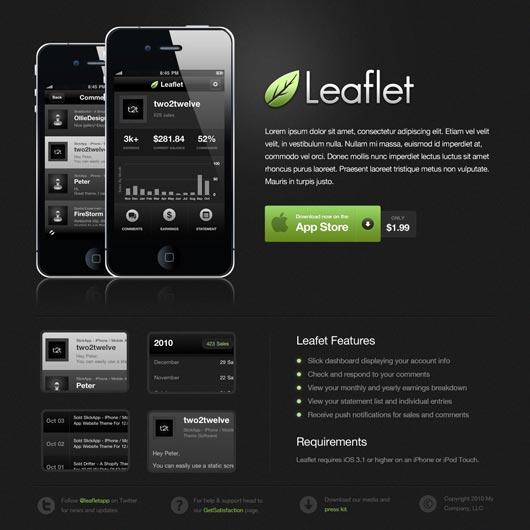 Diseñar un pagina web elegante con colores oscuros