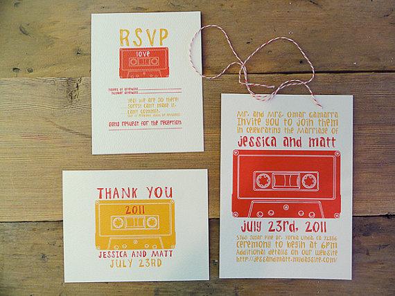 bodas 5 27 Excelentes diseños de invitaciones para eventos