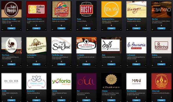 diseños de logos de restaurants brasil