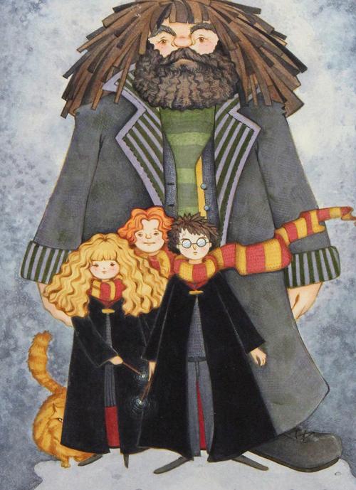 40 Excelentes ilustraciones de Harry Potter - Frogx Three