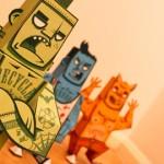 Scream-Team-Paper-Toys