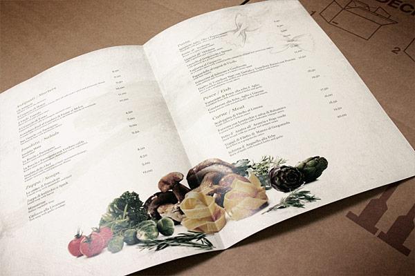 menu de comida 1 Ejemplos de menus de comida para inspirarse