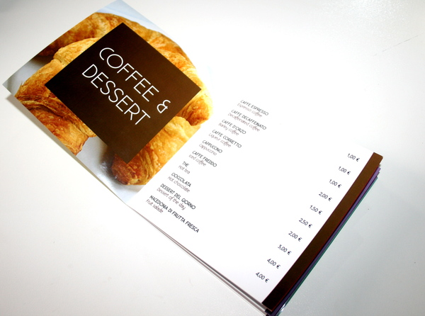 menu de comida 11 Ejemplos de menus de comida para inspirarse