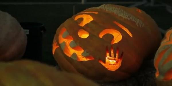 pumpking google halloween doodle 2011 600x300 Google Halloween Doodle 2011, Video Timelapse