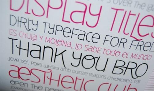fuentes para diseños 20 Hermosas fuentes tipograficas de calidad para diseño gráfico