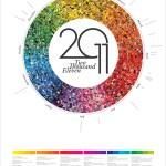 calendario circulo cromatico 8