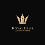 diseños de logos que utilizan plumas o lapices 2