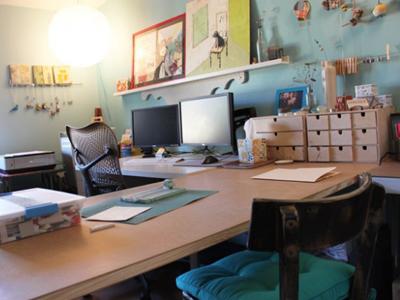18 excelentes espacios de dise adores para envidiar On escritorios para disenadores