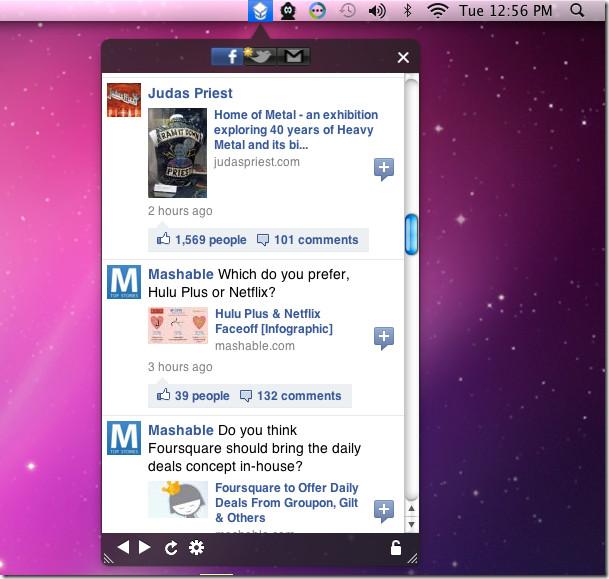 Bar redes sociales 8 Aplicaciones para Mac para adictos a Internet