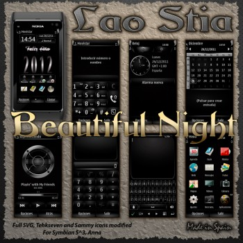Temas nokia N9 Beautiful night 350x350 6 Temas para Nokia N9 gratis