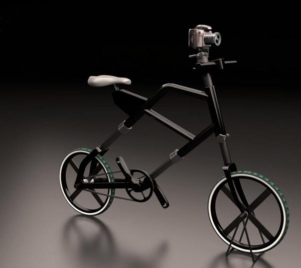 bicicleta con tripode para fotografos 1