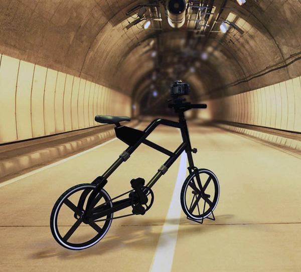 bicicleta con tripode para fotografos 4