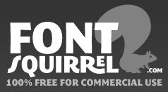 font squirrel logo Fuentes Web, soluciones y como utilizarlas