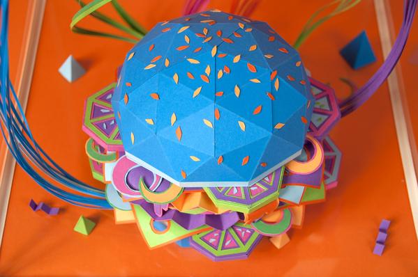 hamburguesa hecha con papel 8