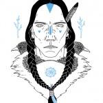 ilustraciones de indios americanos dreamcatcher