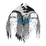 ilustraciones de indios americanos raven brothers