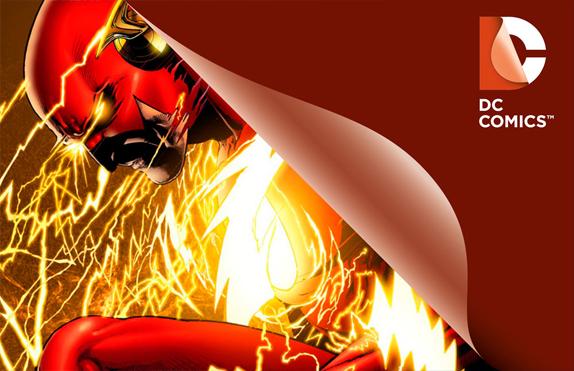 nuevo logo DC Comics Flash