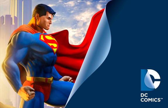 nuevo logo DC Comics Superman