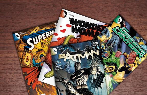 nuevo logo DC Comics revistas