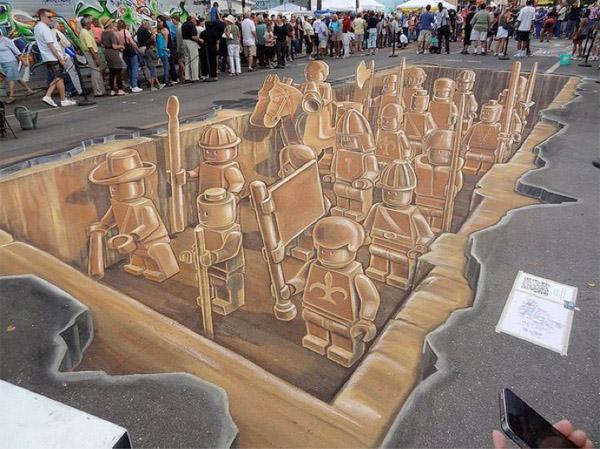 obras de arte 3D callejeras 4