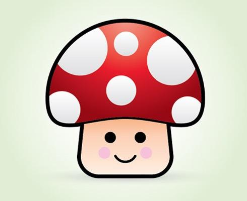 Hongos de Mario Bros en dibujo - Imagui