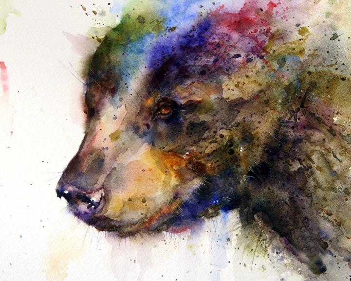 Asombrosas Pinturas De Animales Pintadas Con Acuarelas Frogx Three