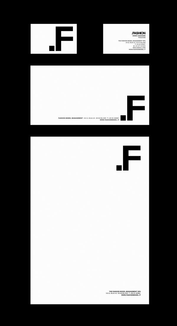 diseño branding fashion papeleria