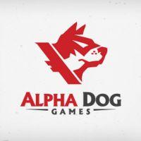 diseños logos perros alpha dog