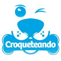 diseños logos perros croqueteando